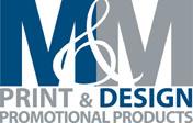 M&M Print Logo